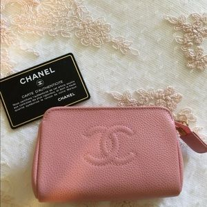 Chanel vintage pouch